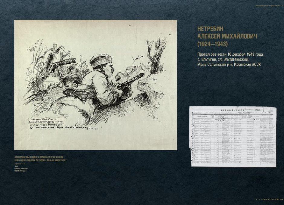 Мультимедийный выставочный проект Фронтовой портрет. Судьба солдата (23)