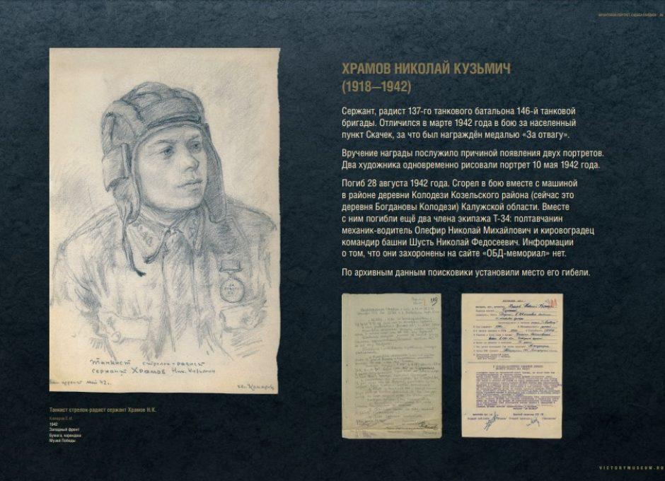 Мультимедийный выставочный проект Фронтовой портрет. Судьба солдата (26)