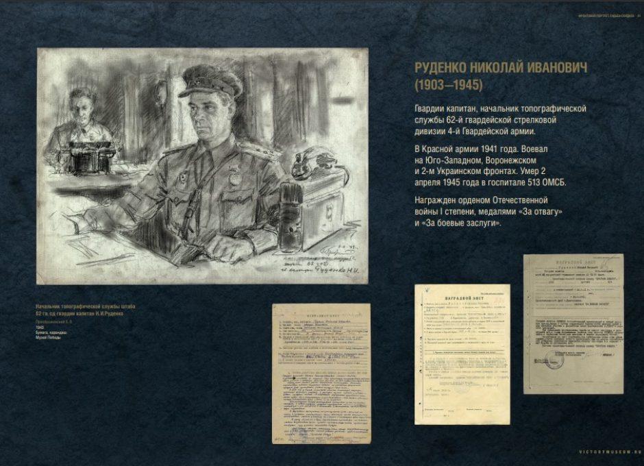 Мультимедийный выставочный проект Фронтовой портрет. Судьба солдата (31)
