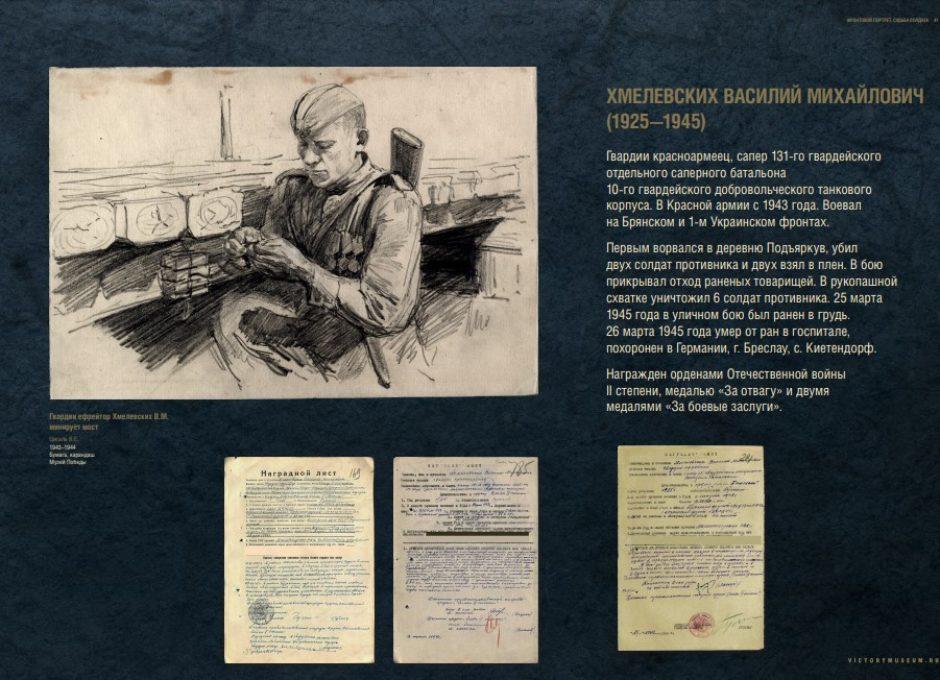 Мультимедийный выставочный проект Фронтовой портрет. Судьба солдата (41)